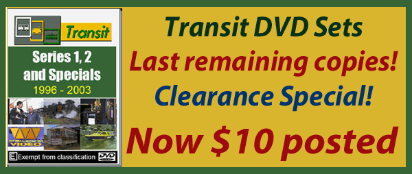 Transit DVD sets - Now $10!